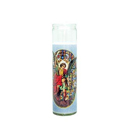 Vela Vidro Altar Arcanjo Miguel
