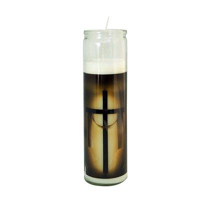 Vela Vidro Altar Cruz