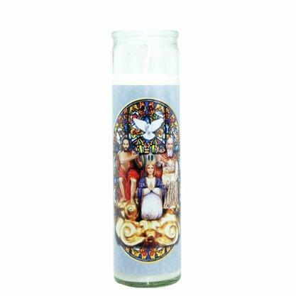 Vela Vidro Altar Divino Pai Eterno