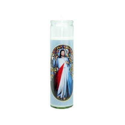 Vela Vidro Altar Jesus Misericordioso