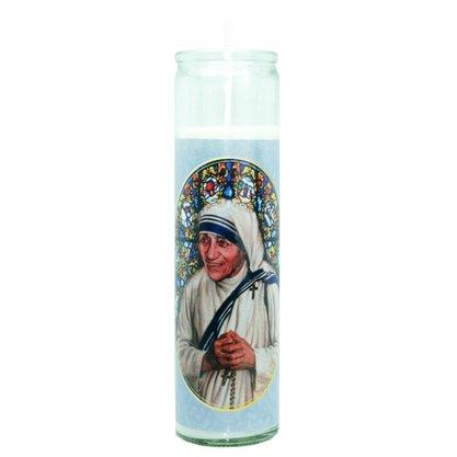 Vela Vidro Altar Madre Teresa de Calcutá
