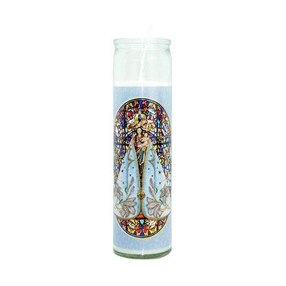 Vela Vidro Altar Nossa Senhora de Nazaré
