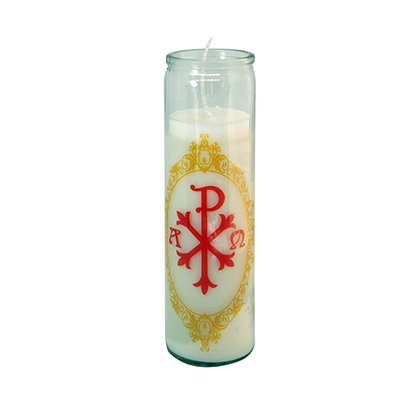 Vela Vidro Altar Px