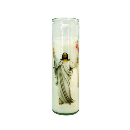 Vela Vidro Altar Ressuscitado