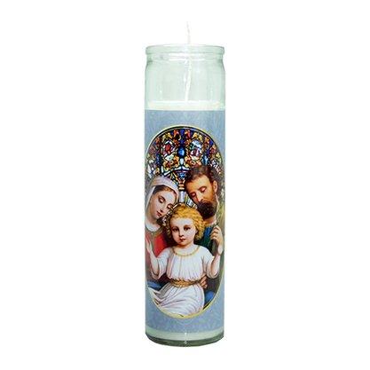 Vela Vidro Altar Sagrada Família