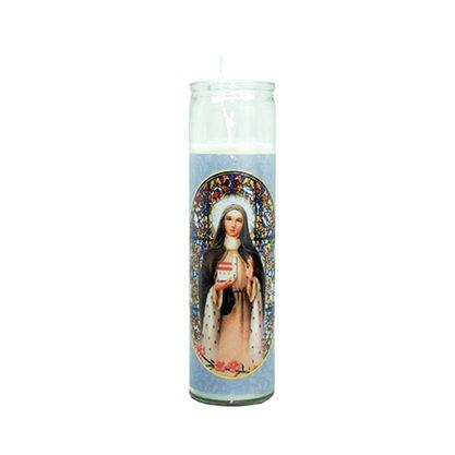Vela Vidro Altar Santa Edwiges