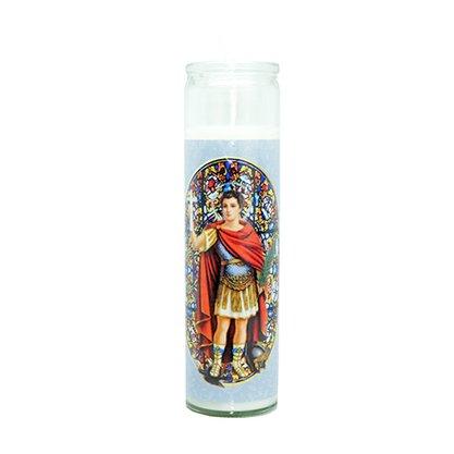 Vela Vidro Altar Santo Expedito