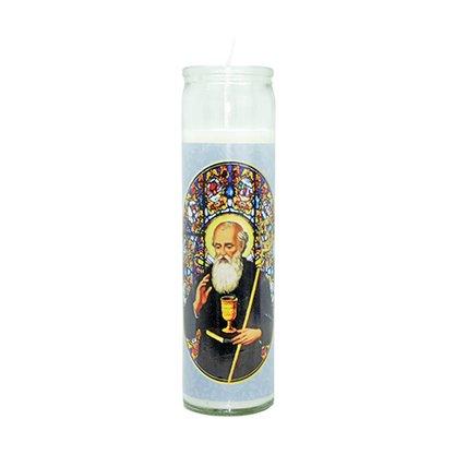 Vela Vidro Altar São Bento
