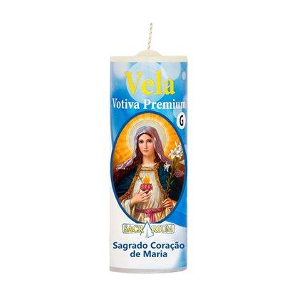 Vela Votiva G Premium Sagrado Coração de Maria