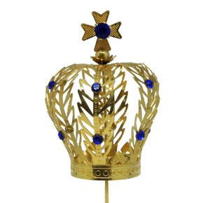 Coroa Dourada para Imagem de Nossa Senhora 6 cm