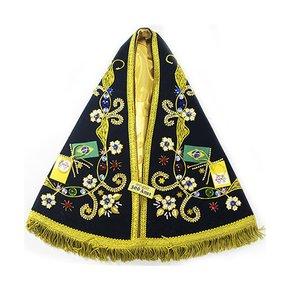 Manto Luxo para Imagem Facsimile de Nossa Senhora Aparecida - 34cm