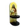 Adorno Porta Água Benta Sagrado Coração de Jesus 20cm