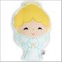 Almofada Anjo da Guarda Perfumada Menino 22 x 16 cm