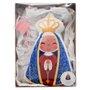 Almofada de Nossa Senhora Aparecida Perfumada 22 x 10 cm