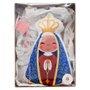 Almofada Nossa Senhora Aparecida Perfumada 30 x 15 cm