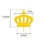 Coroa Dourada para Imagem de Nossa Senhora - 13cm