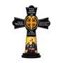 Cruz de Mesa São Bento em MDF Resinada 10 cm