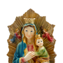 Imagem Resina Importada Nossa Senhora do Perpétuo Socorro 30cm