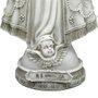 Imagem Nossa Senhora Aparecida em Pó de Mármore com Coroa de Metal - 20cm