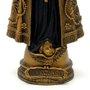 Imagem Nossa Senhora Aparecida em Mármore com Pintura em Bronze 42cm