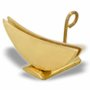 Ostensorio bronze dourado