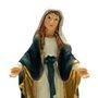 Imagem Resina Importada Nossa Senhora das Graças com Medalha Milagrosa - 10cm