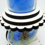 Castiçal Vela Copo Nossa Senhora Aparecida 10 cm